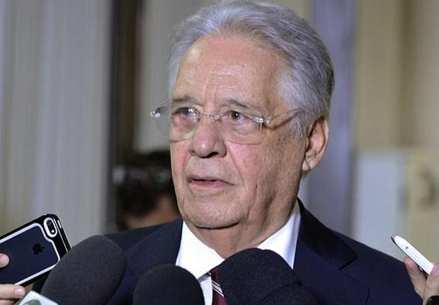 O ex-presidente Fernando Henrique Cardoso (FHC) (Foto: Valter Campanato/Agência Brasil)