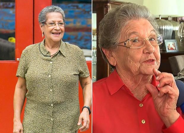 Geralda e Palmirinha (Foto: TV GLOBO)