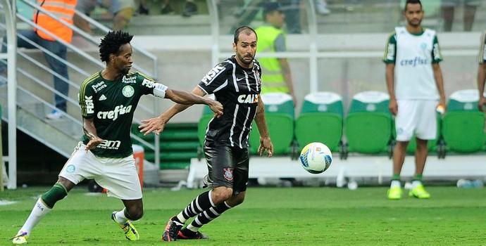 Palmeiras x Corinthians Ze Roberto e Danilo (Foto: Marcos Ribolli)