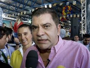 Carlos Amastha será candidato à reeleição em Palmas (Foto: Reprodução/TV Anhanguera)