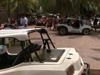 Operação apreende cerca de 100 veículos na areia da Praia do Gunga