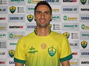 Gilson, novo volante do Cuiabá (Foto: Pedro Lima/Cuiabá Esporte Clube)