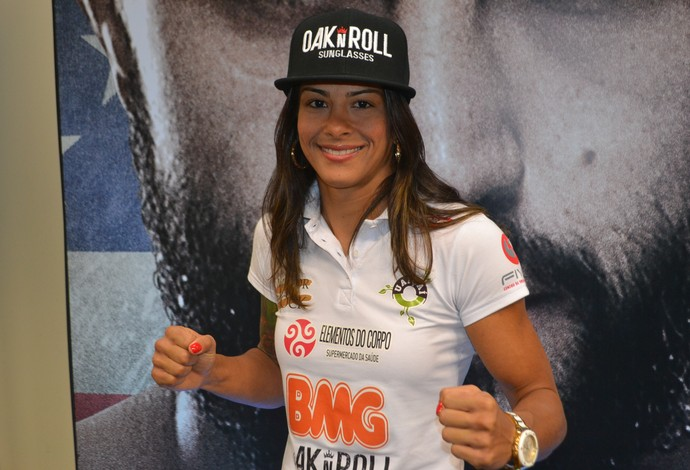 Juliana Lima Ju Thai UFC Goiânia (Foto: Raphael Marinho)