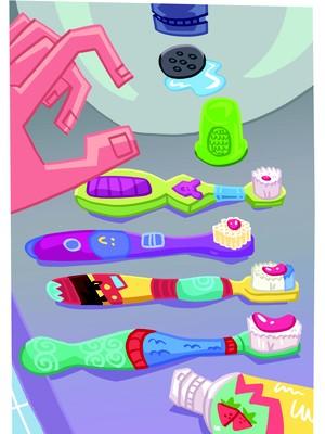 ilustração_escovas de dente (Foto: Pablo Mayer)