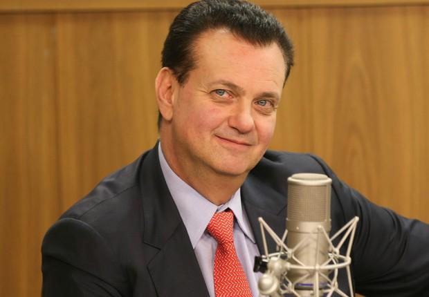 O ministro das Comunicações Gilberto Kassab, participa do programa A Voz do Brasil (Foto: Fabio Rodrigues Pozzebom/Agência Brasil)