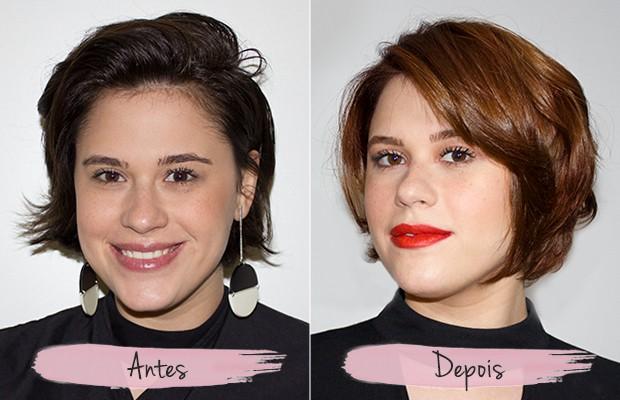 Antes e depois da transformação (uau, olha a diferença!) (Foto: Eduardo Garcia)
