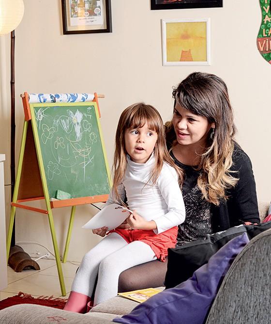 """""""Não aceito  machismo nem violência contra  a mulher"""" - Ligia Moreiras Sena, mãe de Clara (Foto: Cassiano Ferraz/ÉPOCA)"""