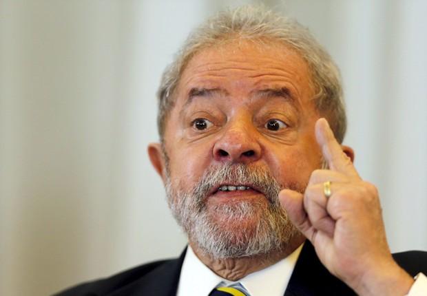 O ex-presidente Luiz Inácio Lula da Silva em imagem de arquivo (Foto: Paulo Whitaker/Reuters)