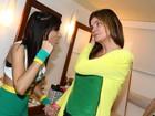 Após show, Anitta exibe pequena falha no seu figurino