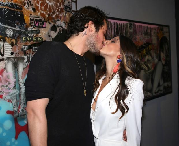Gian Luca Ewbank e Giovanna Lancellotti (Foto: Thiago Duran/AgNews)