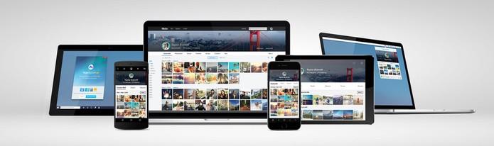 Flickr muda visual na web e nos aplicativos móveis (Foto: Divulgação/Yahoo)