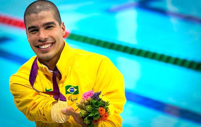 Daniel Dias natação ouro Paralimpíadas (Foto: CPB)