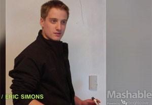 Eric Simmons, de 19 anos, passou dois meses morando dentro da sede da AOL sem ninguém perceber. (Foto: Reprodução/Mashable)