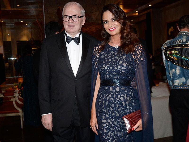Luiza Brunet e o ex-companheiro Lírio Parisotto (Foto: Getty Images)