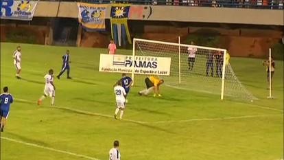 Craques da bola e estrelas da música mostram habilidade no Futebol Solidário em Palmas