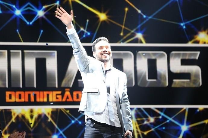 Filipe Labre faturou R$ 50 mil no 'Iluminados', do 'Domingão' (Foto: Carol Caminha/Gshow)
