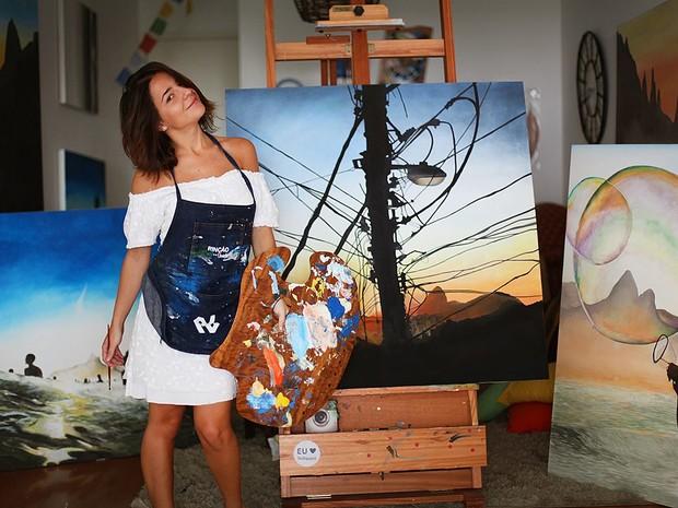 'Meu projeto é viver da minha arte, mas falta coragem', diz Mariana Revelles (Foto: Mariana Revelles/Arquivo pessoal)