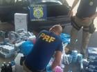 PRF apreende mercadorias contrabandeadas na BR-153 em Frutal
