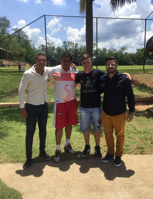 Renato Kayser, novo reforço do Villa Nova-MG (Foto: Villa Nova/Divulgação)