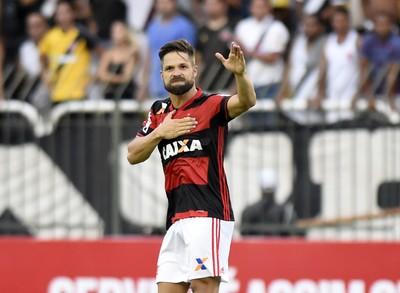 diego flamengo vasco gol (Foto: André Durão / GloboEsporte.com)