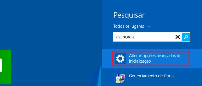 Fazendo uma pesquisa no Windows 8 (Foto: Reprodução/Edivaldo Brito)