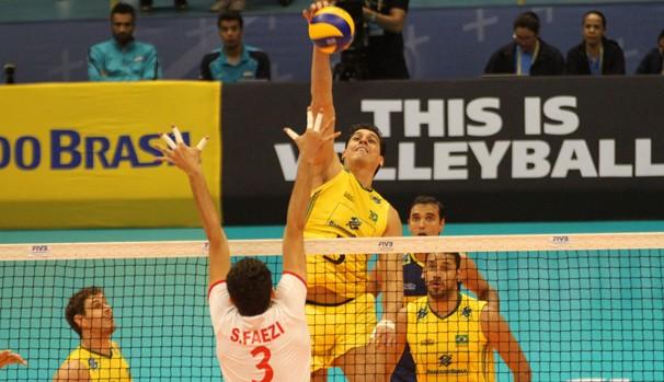 Globo transmite partida entre Brasil x Irã pela Liga Mundial de Vôlei (Foto: Divulgação/FIVB)