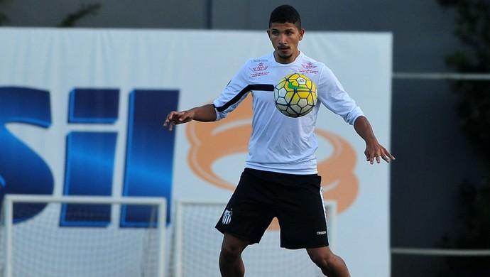 Yuri Santos (Foto: Ivan Storti / Divulgação Santos FC)