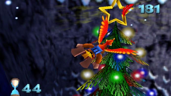 Freezeezy Peak estava cheio de referências natalinas em Banjo-Kazooie HD (Foto: The Banjoo-Kazooie Wiki)
