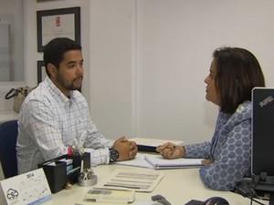 Trabalho Goiânia Goiás (Foto: Reprodução/TV Anhanguera)