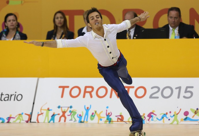 Marcel Sturmer ouro Pan-Americano (Foto: Sergio Dutti/Exemplus/COB)