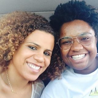 Poliana Martins e Ellen Oléria (Foto: Reprodução/Instagram)