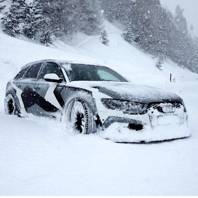 Audi RS6 - Jon Olsson Camo Edition (Foto: divulgação)