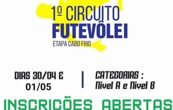 BLOG: 1º Circuito Futevôlei - Etapa Cabo Frio