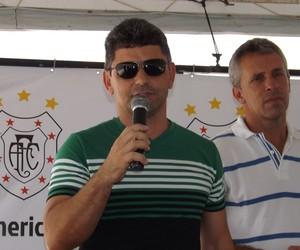 Luciano Viana, presidente do Americano (Foto: Divulgação/Americano)