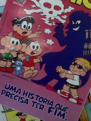 Domingo a Turma da Mônica lançará gibi contra as drogas (Foto: Santo Antônio Energia/Divulgação)