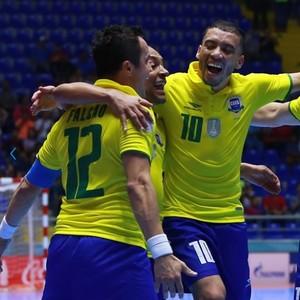 Brasil Irã oitavas de final Mundial de Futsal (Foto: Getty Images/Fifa)