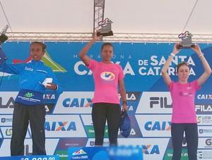 Grazielle Pedroso competiu na prova de 42 km (Foto: Grazielle Pedroso/ Arquivo Pessoal)
