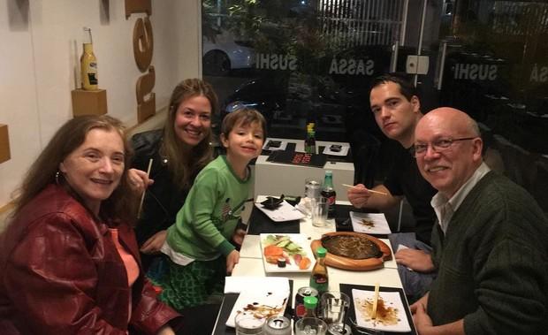 Família de Luana Piovani (Foto: Reprodução/ Instagram)