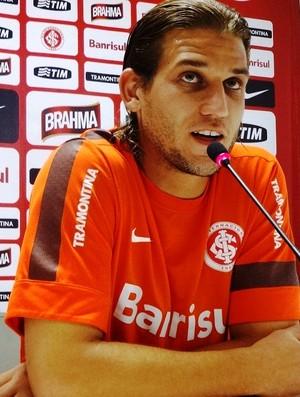 Rafael Moura tem três gols pelo Inter (Foto: Tomás Hammes / GLOBOESPORTE.COM)