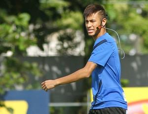 neymar santos treino (Foto: Mauricio de Souza/Agência Estado)