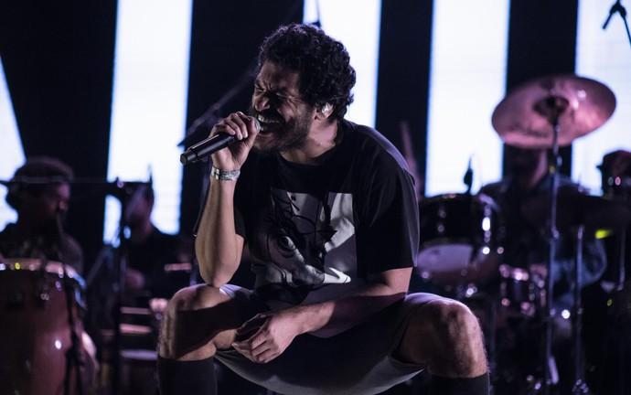 Criolo se apresenta no palco do João Rock 2016 em Ribeirão Preto, SP (Foto: Mateus Rigola/Gshow)
