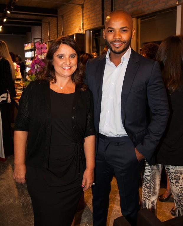 Suzana Galante e Paulo Neto (Foto: Marcos Rosa/ Ed. Globo)