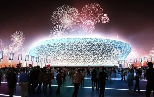 Projeto retrata Estádio Olímpico dos Jogos de Istambul 2020 (Foto: Divulgação)