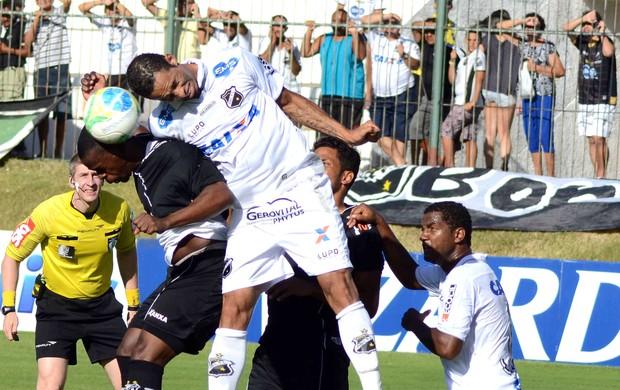 Abc X Bragantino (Foto: Frankie Marcone / Agência estado)