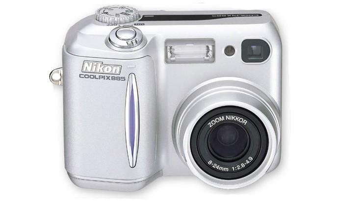 Início da linha Coolpix da Nikon tinha sensor de 3,2 megapixels (Foto: Reprodução/Microsoft)