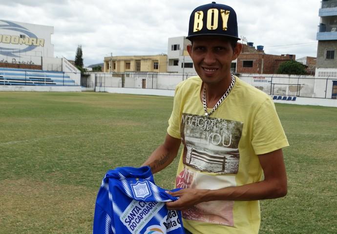 Meia do Ypiranga, Rosembrick (Foto: Vital Florêncio / GloboEsporte.com)