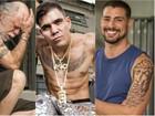 Saiba como são feitas as tatuagens falsas dos atores de 'A regra do jogo'