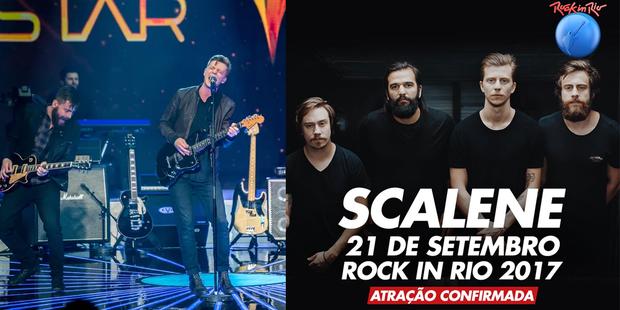 Scalene (Foto: Globo e reprodução)