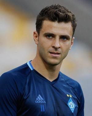 Junior Moraes Dynamo Kiev (Foto: Divulgação / Twitter)