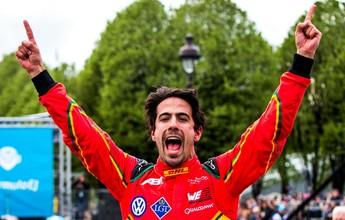 Lucas Di Grassi vence ePrix de Paris e aumenta liderança na Fórmula E
